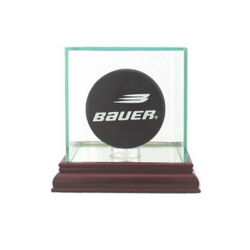 HOCKEY SINGLE PUCK DISPLAY CASE